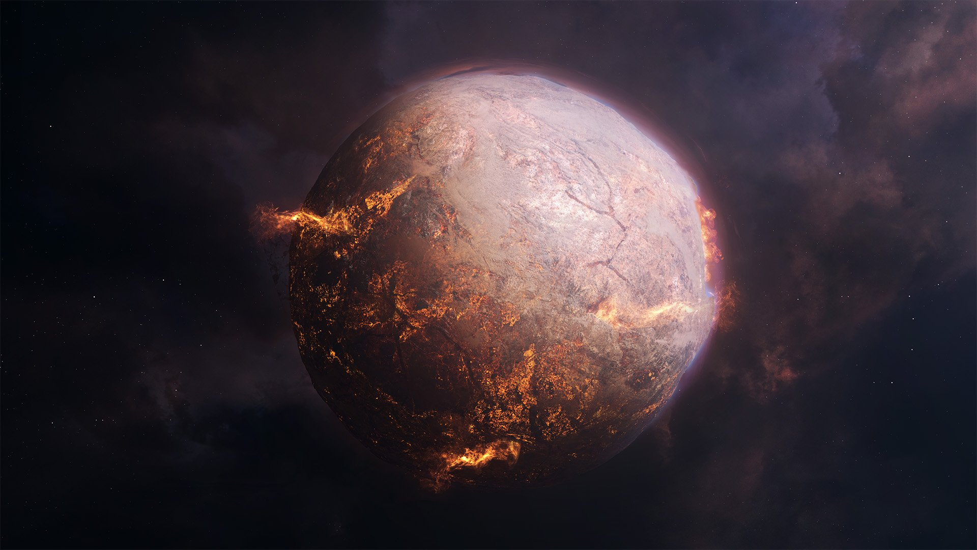 Collapsing Planet