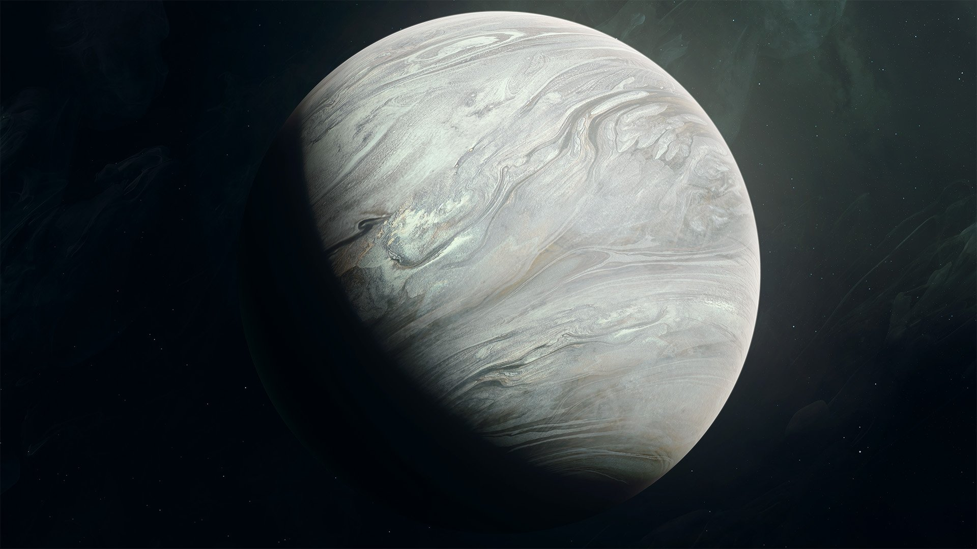 Solid Gas Giant