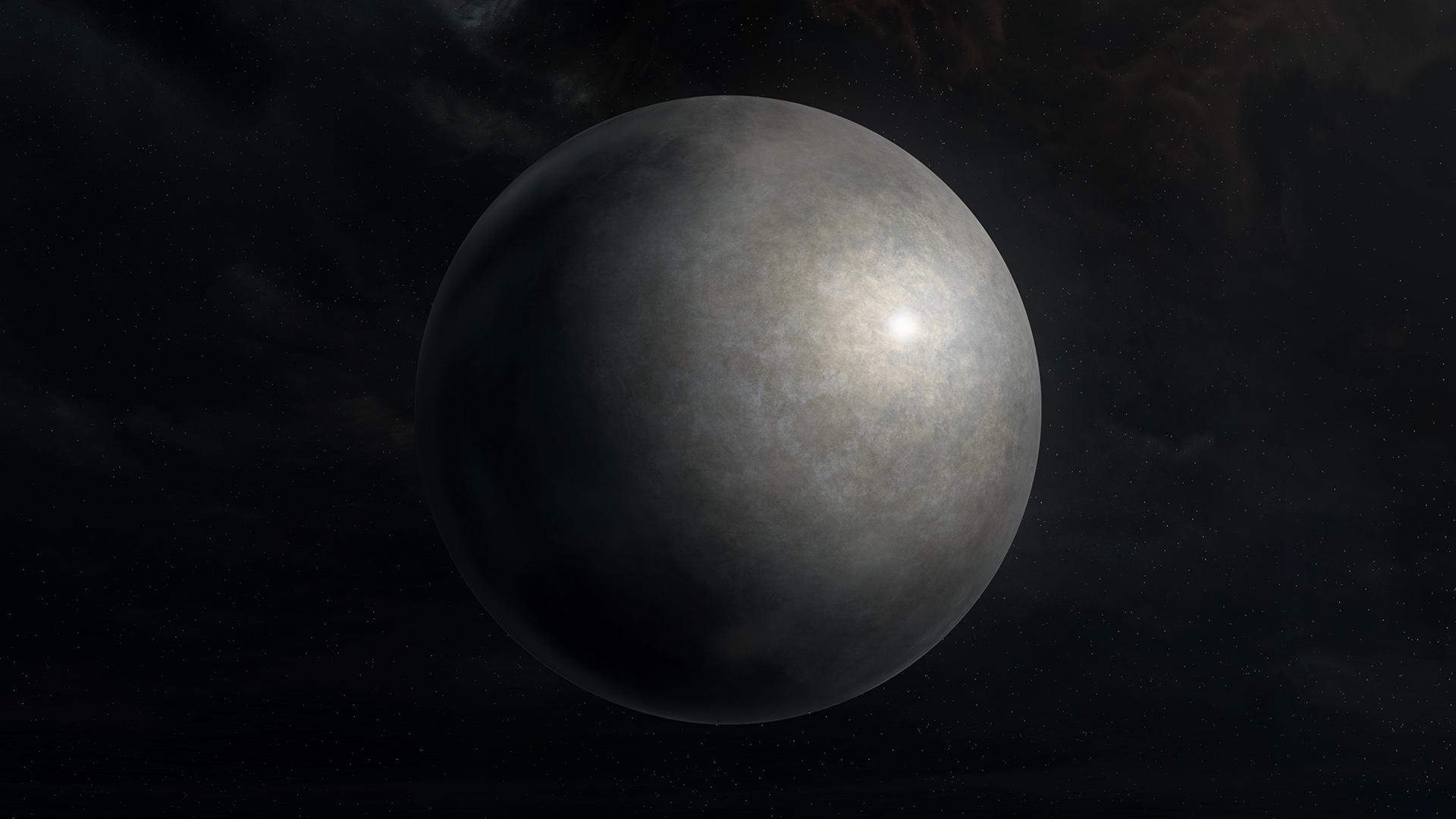 Metallic Planet