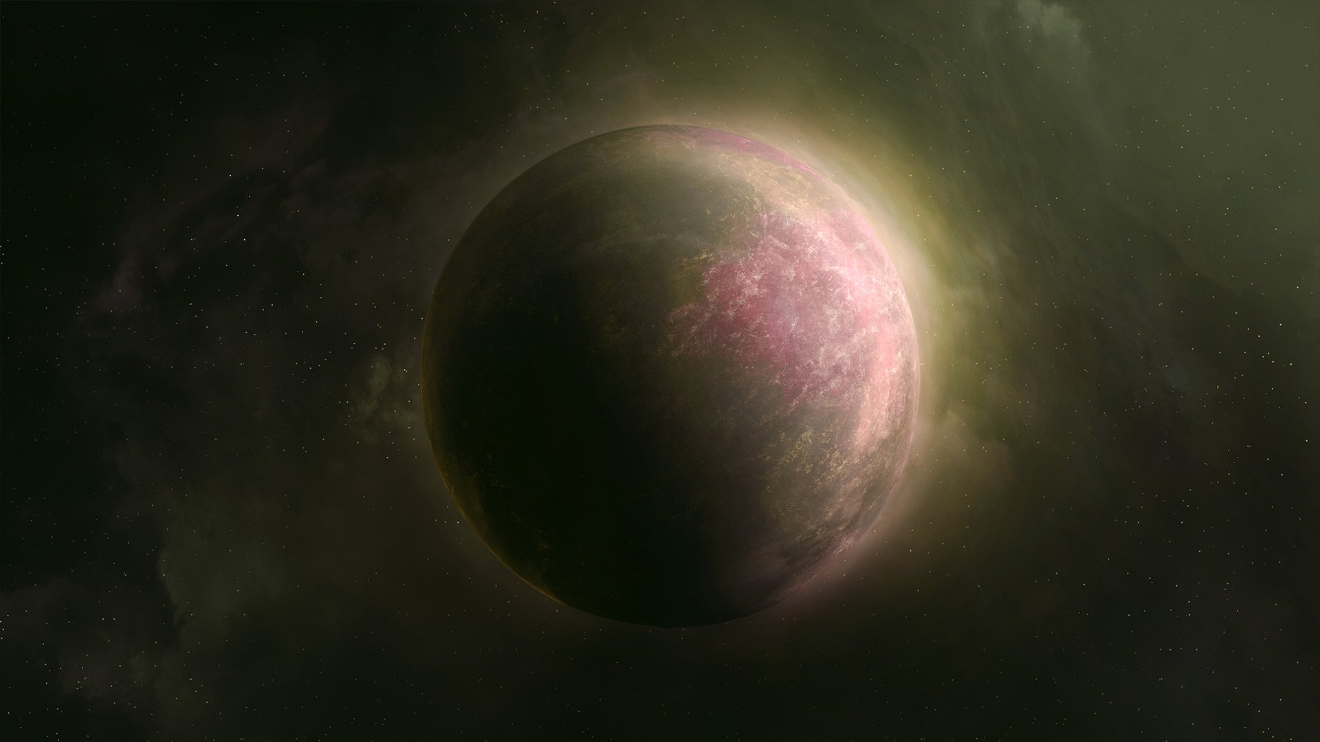 Radiated Planet